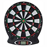 Set Dart-Scheibe NEW SPORTS Electronic-Dartboard Ø 37,5 cm inkl. 6 Dart-Pfeile