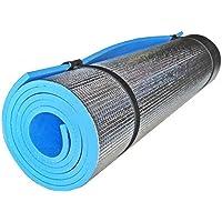 DierCosy - Tappetino da campeggio in alluminio EVA a prova di umidità, tappetino da yoga portatile