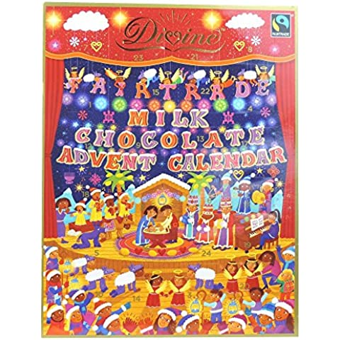 Divine - Fairtrade Milk Chocolate Advent Calendar - 85g