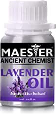 Lavender Essential Oil for Skin,Hair and Body,50ml 100% Pure and Natural from Maester