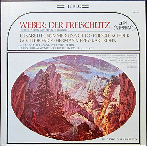 Weber: Der Freischütz [Vinyl Schallplatte] [2 LP Box-Set]