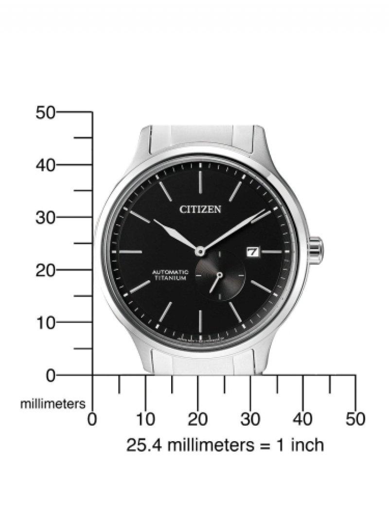 Citizen Reloj Analogico para Hombre de Mecánico con Correa en Titanio