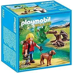 Playmobil - Castores con mochilero (55620)