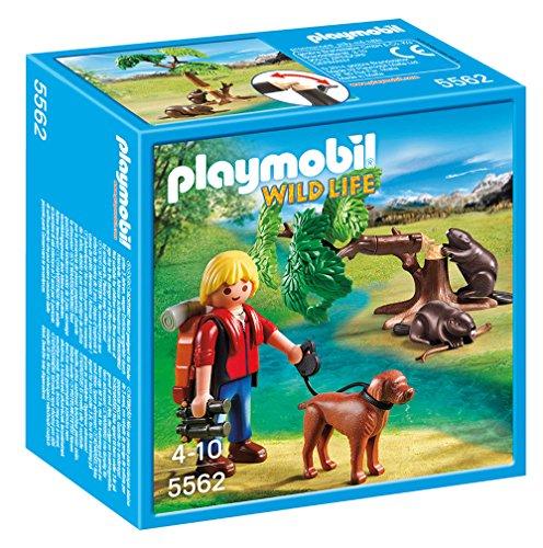 Playmobil - Castores con mochilero 55620