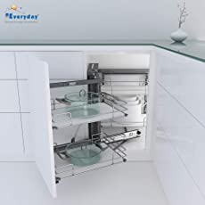 Everyday Kitchen Corner Pull Out Solid Base W864 x D500 x H700