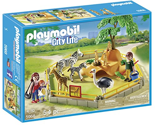 PLAYMOBIL 5968 Wild Animal Enclosure Playset by PLAYMOBILÃÂ'Ã'®