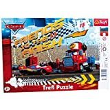 Legler 3441 - Rahmenpuzzle - Disney Cars, 15-teilig