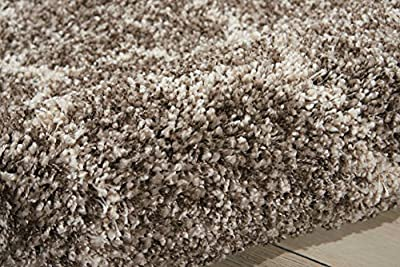 Nourison Teppich Mondrian 99446222206–Stone maschinengefertigter Teppich, Stone, 3ft 27,9cm x 5ft 27,9cm von Rama Carpets - TapetenShop