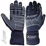 ATTONO Segelhandschuhe Winter Segeln Regatta Wassersport Handschuhe Größe 9/L