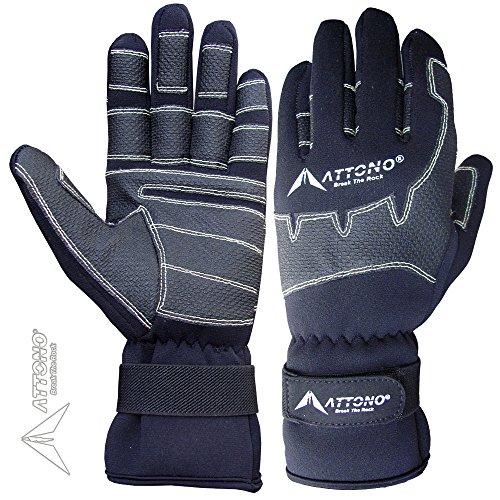 Segelhandschuhe von ATTONO Winter Segeln Regatta Wassersport Handschuhe Größe 9/L