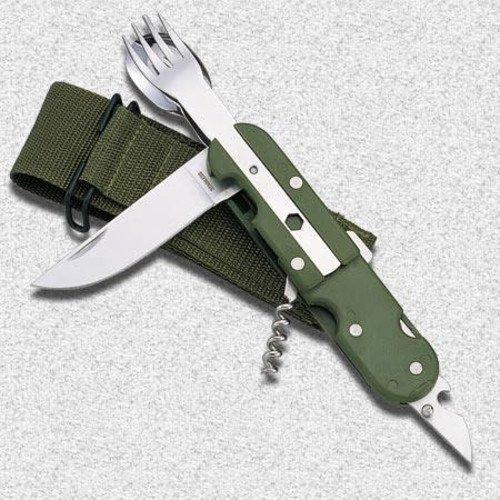 Olive Planet EU Military Cutlery Set