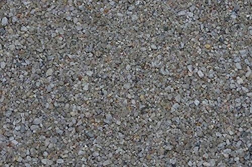 1 kg to 25kg Aquarium Gravel Grain Size 2-3mm–Made in Germany–Quartz Sand–Round 2