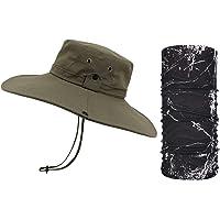 TAGVO Cappelli alla Pescatora a Tesa Larga, Cappelli da Escursionismo Estiva con Protezione UV, Cappello da Sole con…