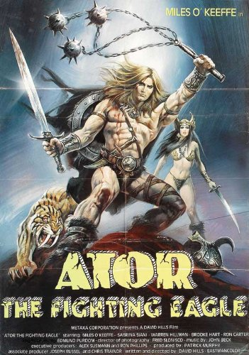 Ator, the Fighting Eagle Plakat Movie Poster (11 x 17 Inches - 28cm x 44cm) (1982)
