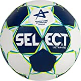Select Ultimate Uni CL Women Ballon de Handball Bleu/Blanc/Jaune, 2