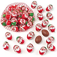Baker Ross Santa Mini Chocolate Eggs (Pack of 15)