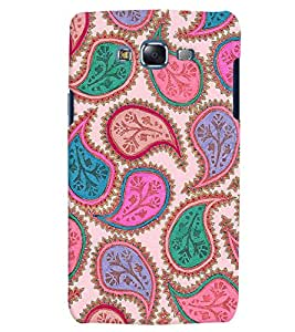 Citydreamz Traditional Rangoli Design/Floral Design/Beautiful Texture Print/Abstract Hard Polycarbonate Designer Back Case Cover For Samsung Galaxy A7