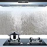 Bluelover Film Di Alluminio Da Cucina Olio Sticker Autoadesivo Anti Oil Kitchen Cabinet Parete Di Carta Adesiva