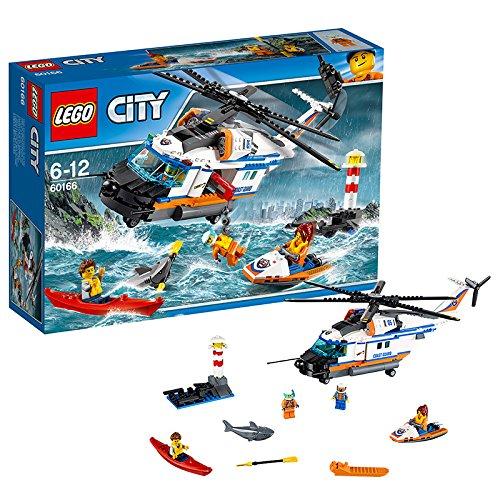 Preisvergleich Produktbild LEGO City 60166 - Seenot-Rettungshubschrauber