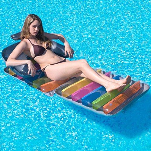 Meters Aufblasbare Matratzen Multifunktionale Sofa Wasser Aufblasbare Sofa Schwimmende Bett Liegen Outdoor Adult Air Kissen (Matratze Air-für-sofa-bett)