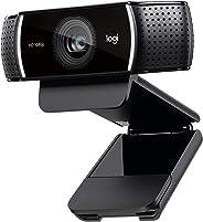 Logitech C922 Pro Stream Webcam (Full HD 1080p-Streaming mit Stativ und kostenloser 3-monatiger XSplit-Lizenz) schwarz