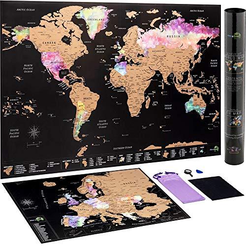 Mapa Mundi Rascar + Mapa Europa Rascar -