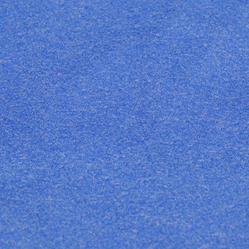 Everlast Donna Jacquard Tank Maglia Blu Marl