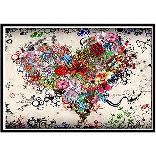 Diamant Malerei Full Kits 5D DIY, Tier und Natur Bohrer Kits für Vollbohrer Erwachsene Porträt Strass Stickerei Kreuzstich Kunst Malerei 2019 billige Kunstwerke Markthym - Diamant-motorrad-shirt