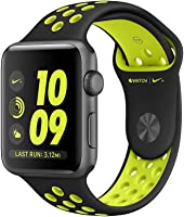 Apple Watch Series 2 Nike+ MP0A2 42mm Space Gray Aluminum Case with Black / Volt Nike Sport Band