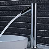 Automatischer Elektronik Wasserhahn Infrarot Sensor Waschtischarmatur Vollautomatik IR Badarmatur Hand