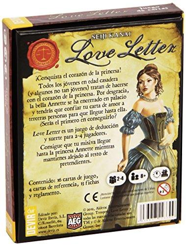 Devir   Love letter  castellano  juego de mesa (BGHLOVE)
