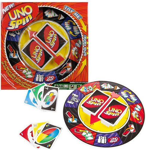 Vortex Toys UNO Spin Wheel Card Family Board Game  available at amazon for Rs.549