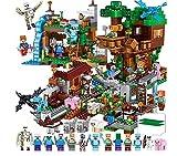 Weoo Qianyue, My World Blocks, 5 Boys, Girls, 6-10, Toys, Dark Grey Trees, 406 Houses, 3 People.
