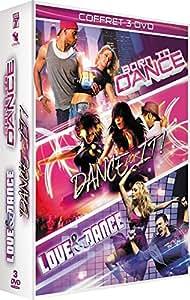 Dance - Coffret 3 films : Born to Dance + Dance for It ! + Love & Dance