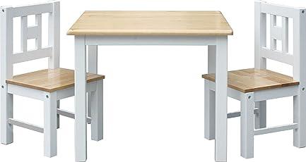 IB-Style - Kindersitzgruppe LUCA | 3 Kombinationen | Stuhl Truhenbank Kindermöbel Tisch Kindertisch Kinderstuhl