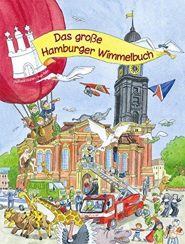 Preisvergleich Produktbild Das große Hamburger Wimmelbuch