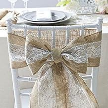 Stuhl Deko Hochzeit suchergebnis auf amazon de für stuhl deko hochzeit mit prime