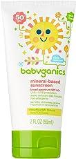 Babyganics Cover-Up Baby Sunscreen Lotion SPF 50-2 fl oz
