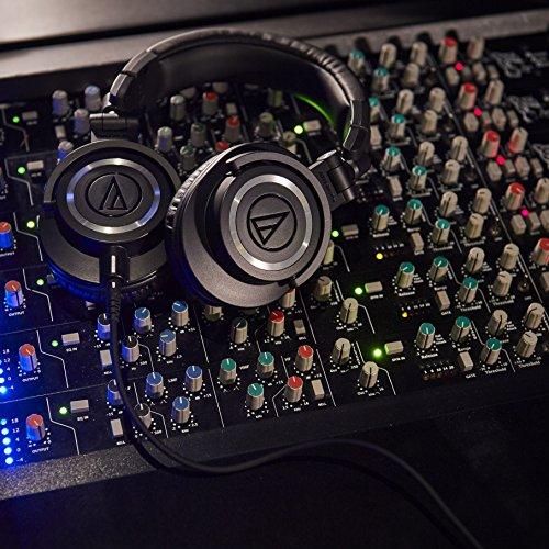 Audio Technica ATH-M50x DJ-Kopfhörer für Studio - 7