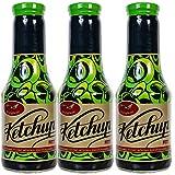 Aranyfacan Dreierpack Grillsoße und Bio Ketchup zuckerfrei mit Stevia in einer Glasflasche, 3 x 510g | ohne Zusatzstoffe, ohne Zucker | paleo | vegan | glutenfrei | kalorienarm | lactosefrei