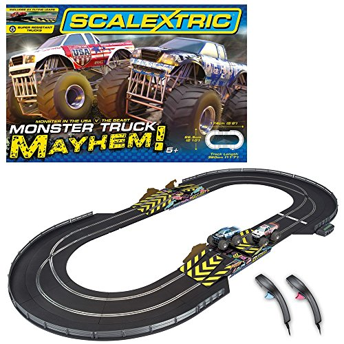 Scalextric-132-Scale-Monster-Truck-Mayhem-Race-Set