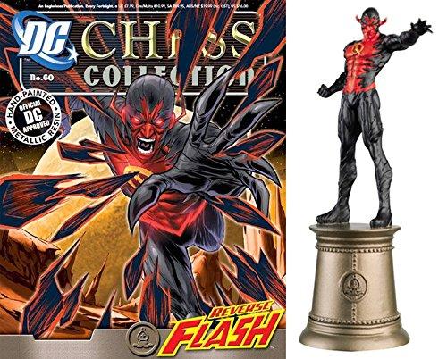 Figuren des Schachspiels Harz DC Comics Chess Collection Nº 60 Reverse Flash Professor Zoom