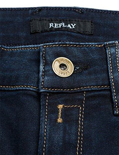 Replay - Rose, Jeans Da Donna Blu (Blue Denim 601-7)