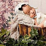 75 x 50 Cm Neugeborene Fotografie Requisiten Babyfoto Decke Wickeln Junge Mädchen Outfit