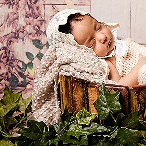 75 x 50 Cm Neugeborene Fotografie Requisiten Babyfoto Decke Wickeln Junge Mädchen ()