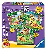 Ravensburger 07207 1-3 Puzzle Progressivi Da 25-36-49 Pezzi - Winnie The Pooh