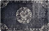deco-mat Orientteppich – Fussmatte Orient – Fussmatte Innen Rutschfest und