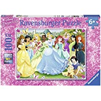 Ravensburger Italy 10938 8 - Puzzle Principesse Disney, 100 Pezzi
