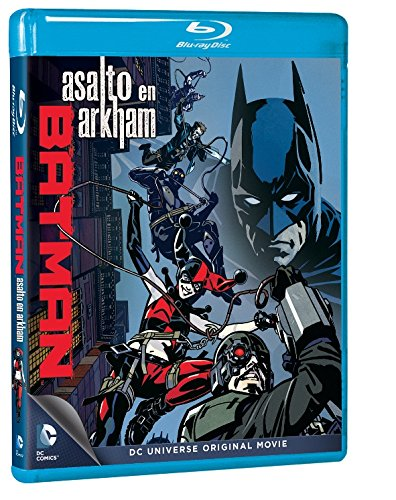 Batman: Asalto En Arkham [Blu-ray] 61NsrzW ydL