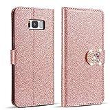 ZCDAYE Case for Samsung Galaxy A20E,Bling Glitter [Magnetic